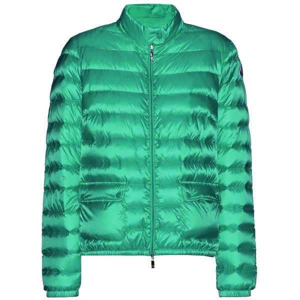 Moncler Lans Down Jacket (1.699.255 COP) ❤ liked on Polyvore featuring outerwear