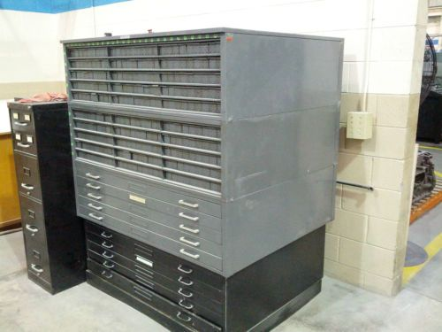 Hamilton 10 flat 270 rolled drawer steel file drafting blueprint hamilton 10 flat 270 rolled drawer steel file malvernweather Image collections