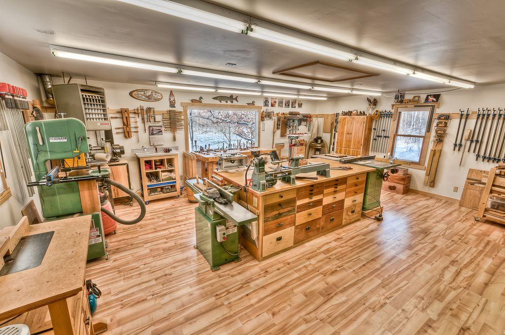 The Workshop Woodworking Shop Layout Garage Workshop Layout Woodworking Shop