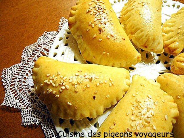 Bourek arméniens à l'oignon et au fromage