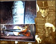 Titanic band player Wallace Hartley's violin