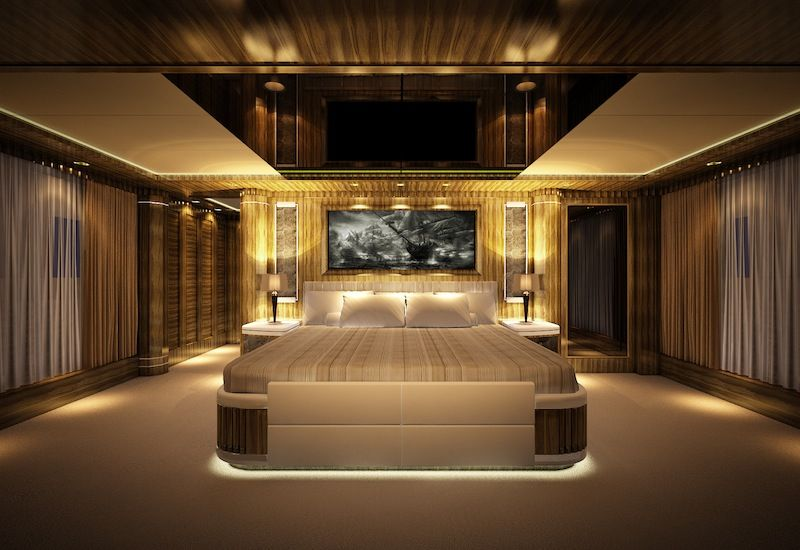 eclipse yacht interior video