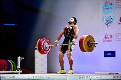 Jhonatan Muñoz consigue el 5to. Lugar en el mundial de levantamiento de pesas en Polonia. ~ Ags Sports