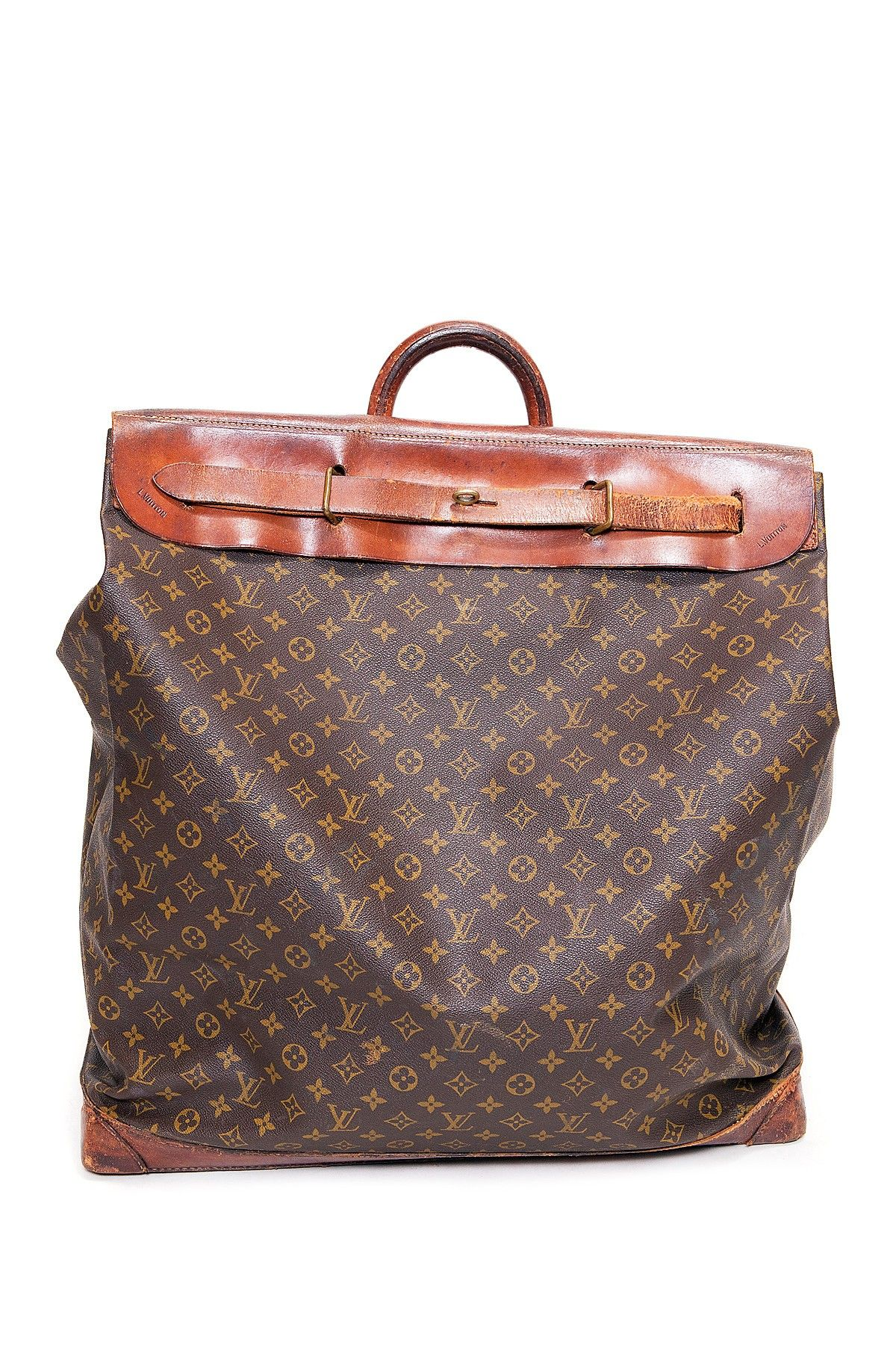Vintage Louis Vuitton Monogram Print Steamer Bag  aad88a157d90b
