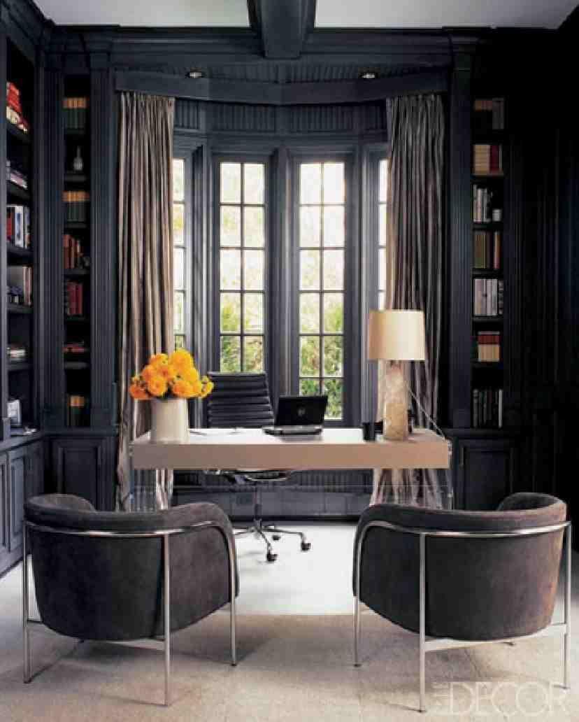 traditional custom home office. Monique Lhullier\u0027s Home Office Traditional Custom O