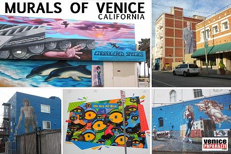 Self Guided Walking Tour Of The Venice Murals