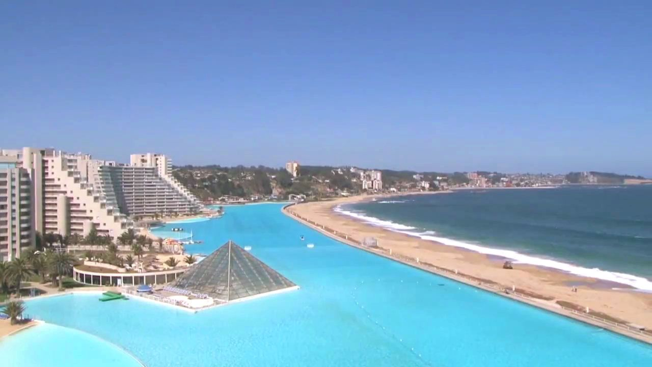 Largest Pool In Chile >> San Alfonso Del Mar Chile Largest Pool In The World Must See