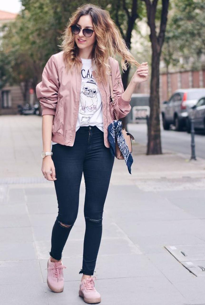 Conjunto chaqueta rosa f30cf80b9907