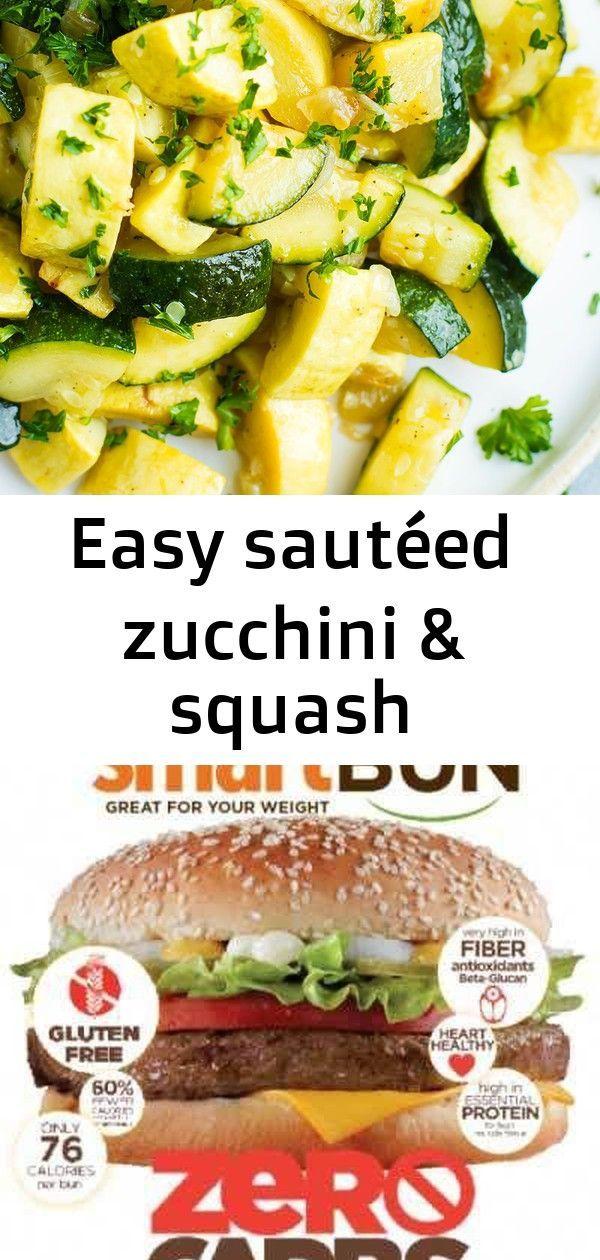 sautéed zucchini  squash Healthy Easy Zucchini Squash Recipe  Have a quick side dish recipe of sautéed zucchini and squash ready and on your dinner table in...