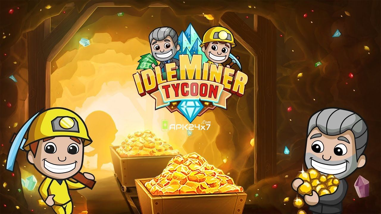 Idle Miner Tycoon v2.1.5 Mod APK Hacks, Games, Android