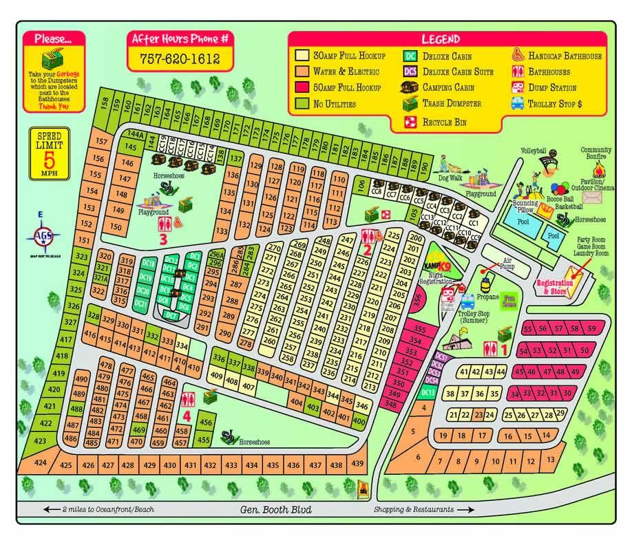 Virginia Beach Boardwalk Map Pdf