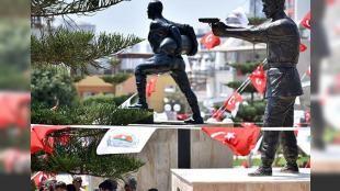 Ömer Halisdemir'in heykeli açıldı: Mersin'de Toroslar Belediyesince Mehmetçik Parkı'na yaptırılan şehit Piyade Astsubay Kıdemli Başçavuş Ömer Halisdemir'in heykelinin açılışı gerçekleştirildi.
