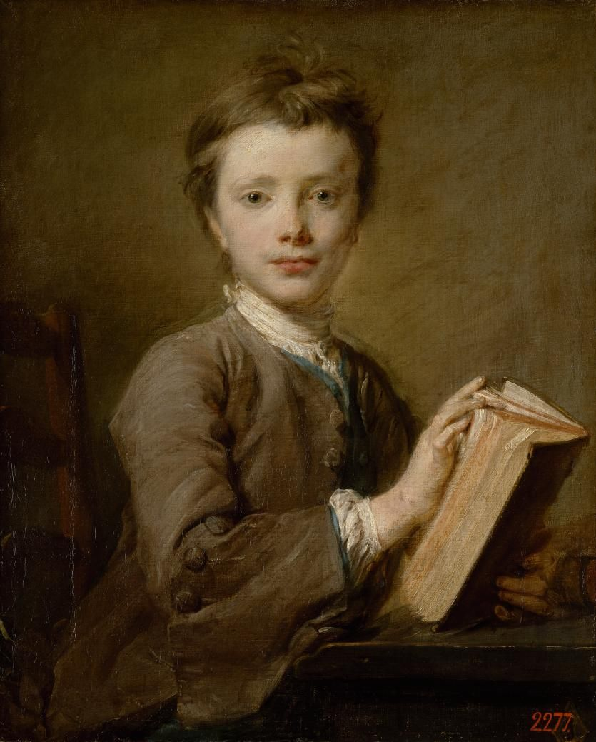 JeanBaptiste Perronneau French 171583 Portrait of a boy