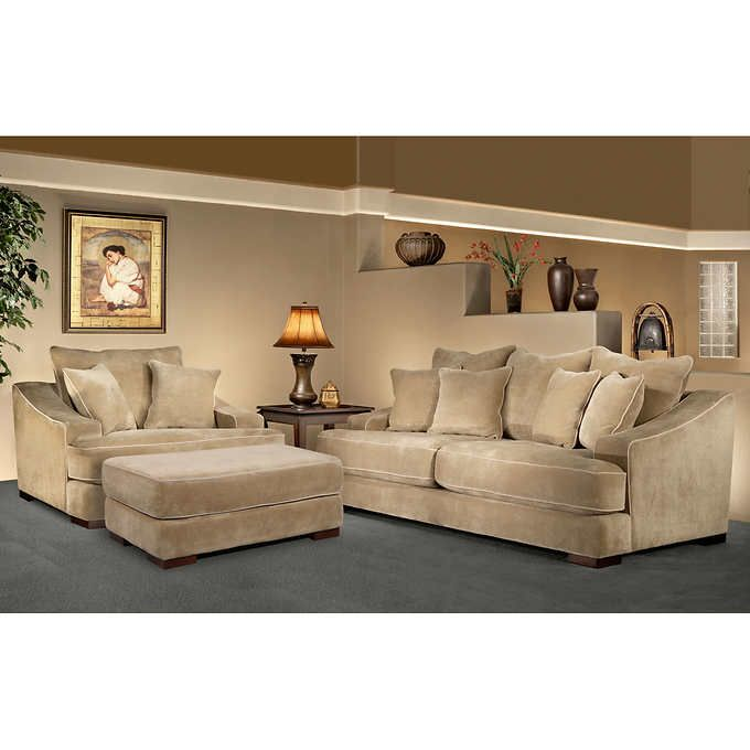 Best Sebastian 3 Piece Fabric Set With Images Living Room 640 x 480