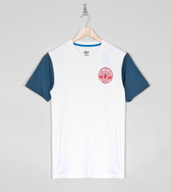 Buy adidas Originals Art Raglan T-Shirt - Mens Fashion Online at Size?   See more about adidas originals, men fashion and t shirts.