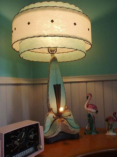 1950 S Lamp Retro Lamp Vintage Lamps Mid Century Modern Decor