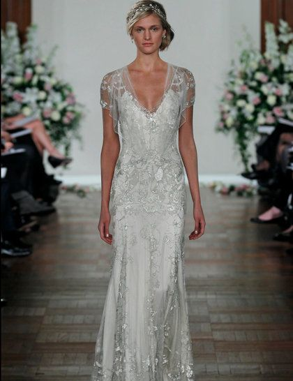 Gorgeous Great Gatsby Wedding Dress Inspiration For More Update On This Trend Visit Http