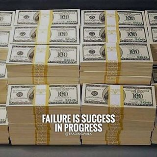 Failure Is Success In Progress Forex Stocks Traders Binary