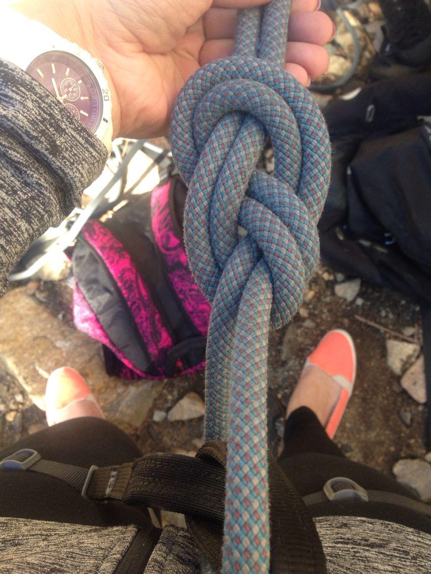 Basic Rock Climbing Knots Rock climbing workout, Rock