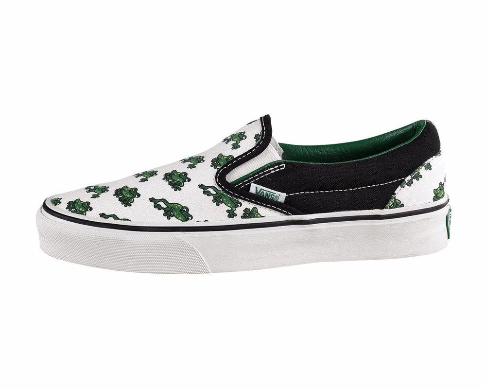 842925da451ab7 Best shoes of ever - frog Vans!!!!