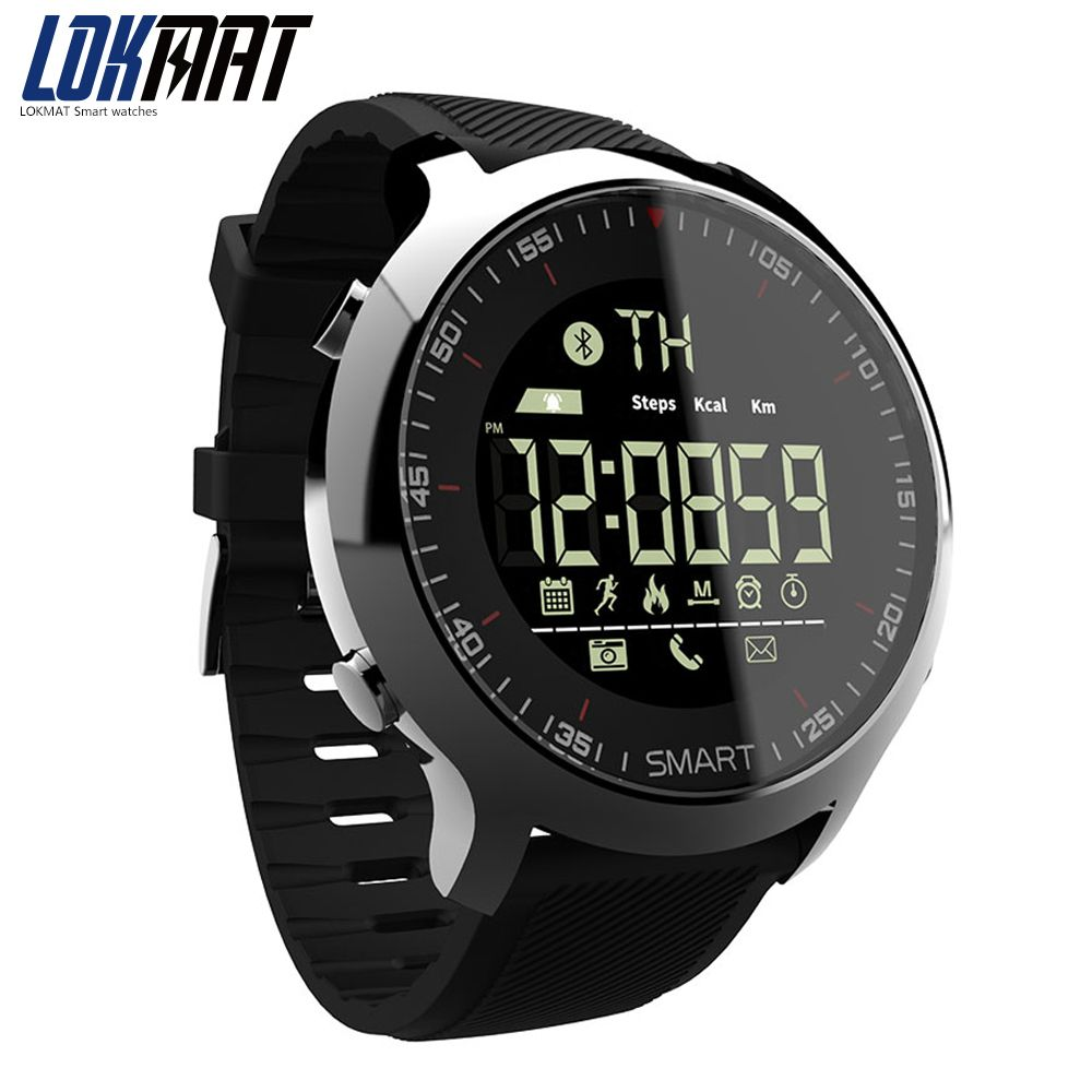968db9cab Top Smart Watch 2018 Wearable Devices Waterproof IP67 pedometers bluetooth  Sport Men Watches For IOS Android Phone LOKMAT. Yesterday's price: US  $59.70 ...
