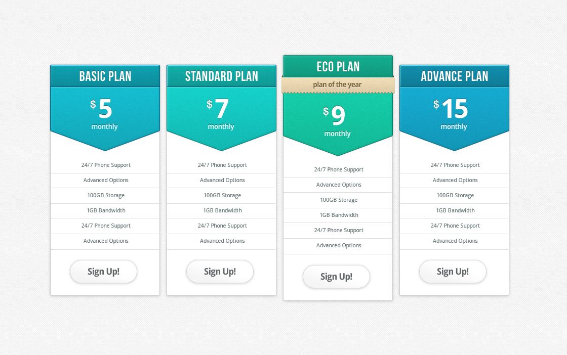 Pricing Table Jpg By Ashish Thakkar Web Design Pricing Table Template Site