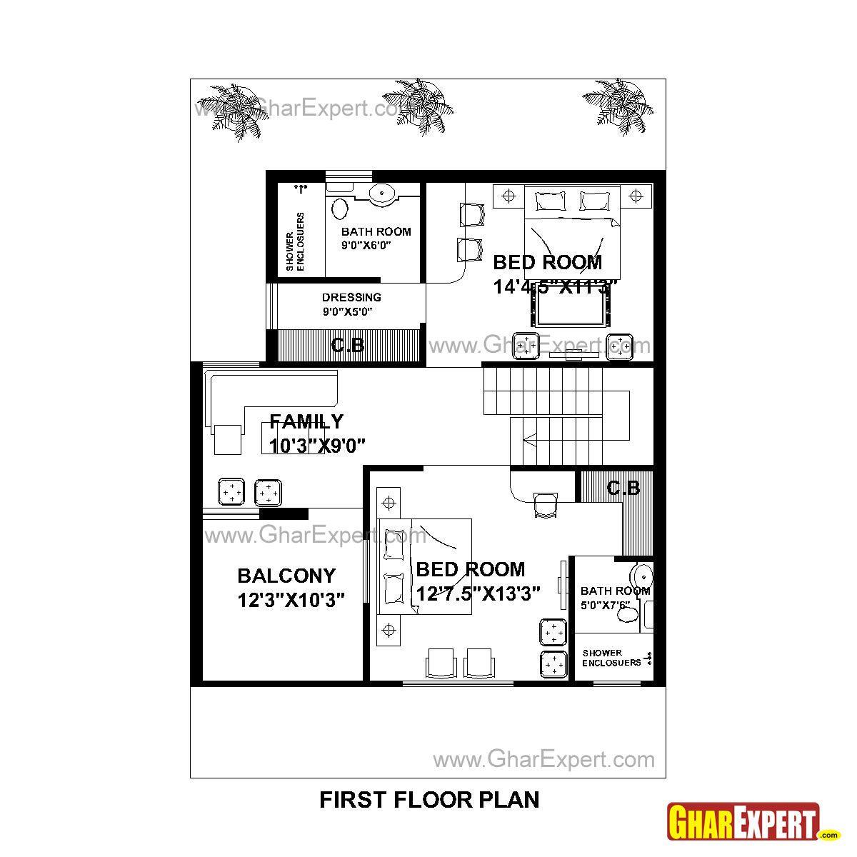 House Plan For 25 Feet By 30 Feet Plot Plot Size 83: House Plan For 30 Feet By 44 Feet Plot (Plot Size 147