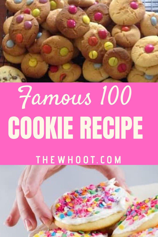 Famous 100 Cookie Recipe Condensed Milk Cookies The Whoot 100 Cookies Recipe Cookie Recipes Xmas Cookies Recipes