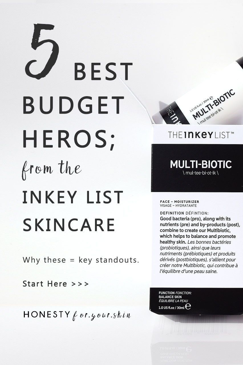 The INKEY List skincare is ridiculously active packed for
