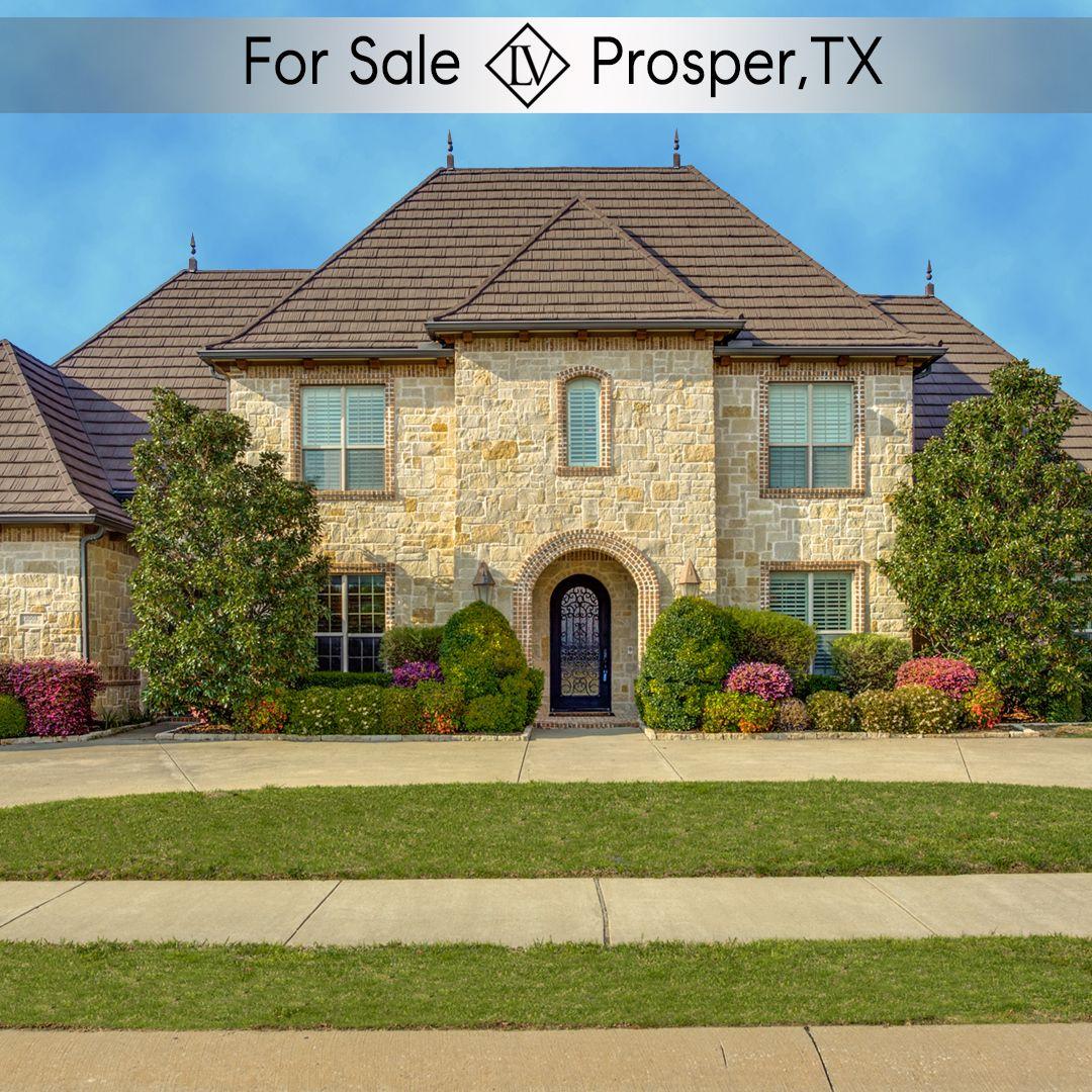 Dream Home In Prosper TEXAS in 2020 Gated community