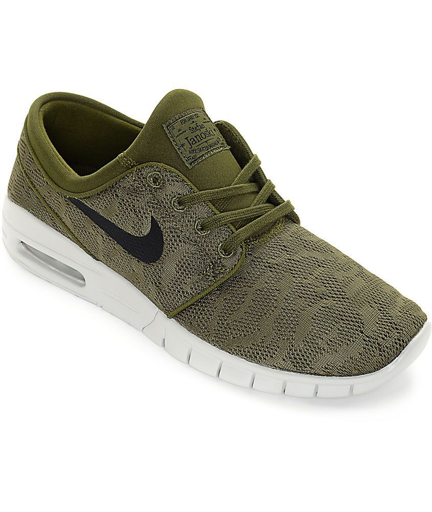 best sneakers 7d885 70f0d Nike SB Stefan Janoski Max Legion Green Black 631303 300 Size 11 Nwb  110   NIKE  AthleticSneakers