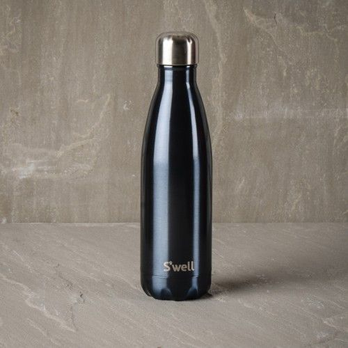 952d66a4bf S'well Blue Suede Insulated Water Bottle | Drink and Be Merry ...