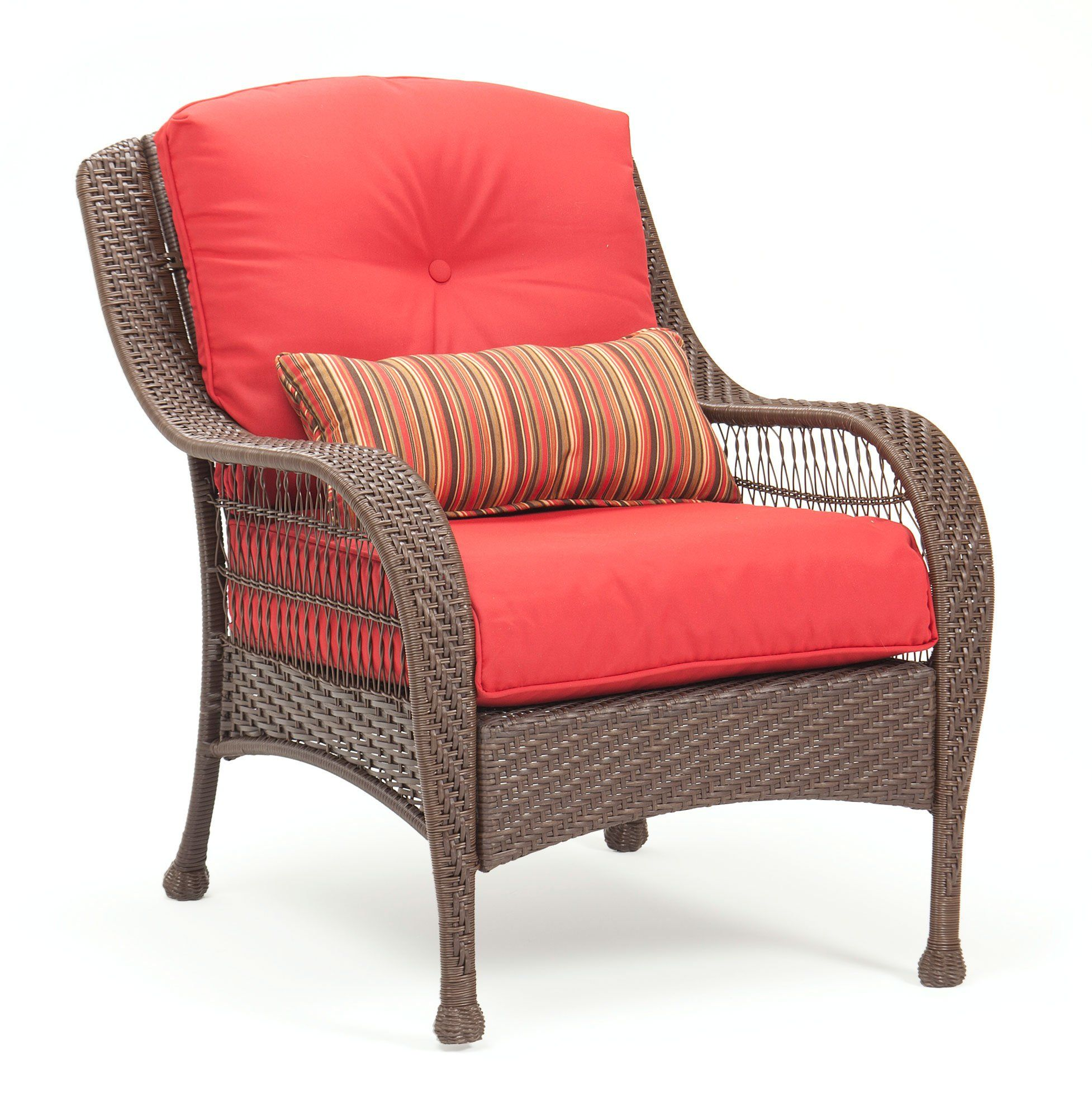 LaZBoy Outdoor Bristol Resin Wicker Patio Furniture ...