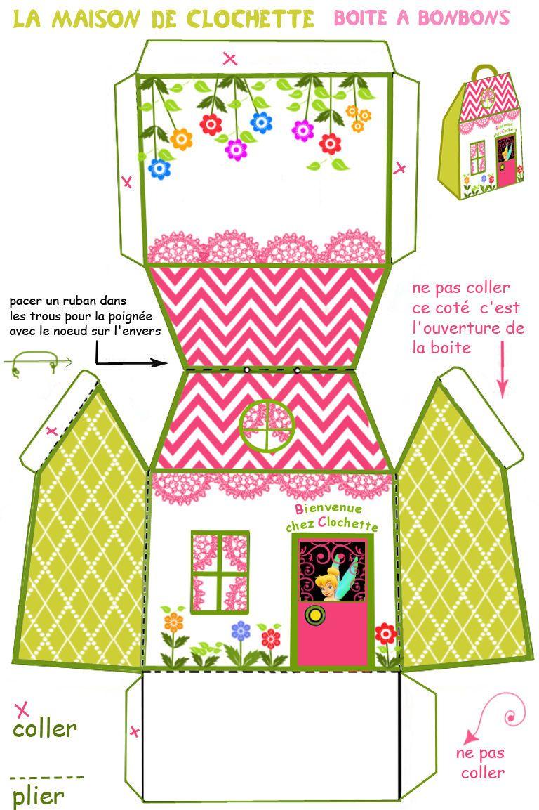 Maison de poupées = 2 boîtes bonbons