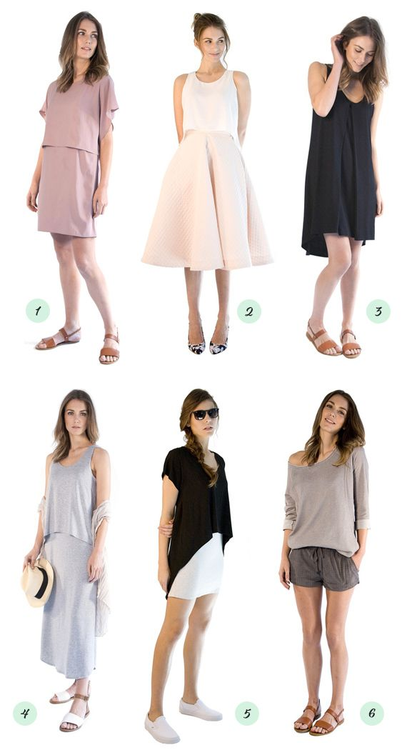 1c1a94222e69d Modern nursing tops and dresses from Au Lait... good to know for whenever  I'm pregnant