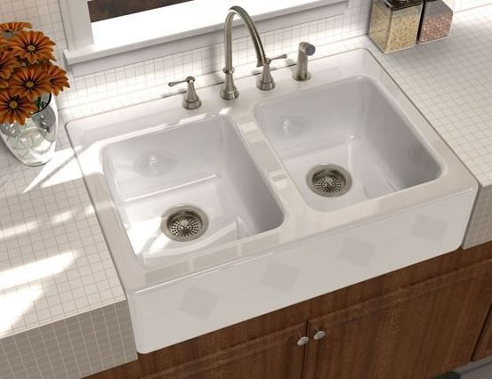 33 Song Cast Iron Apron Front Farm Sink S 8840 In 2020