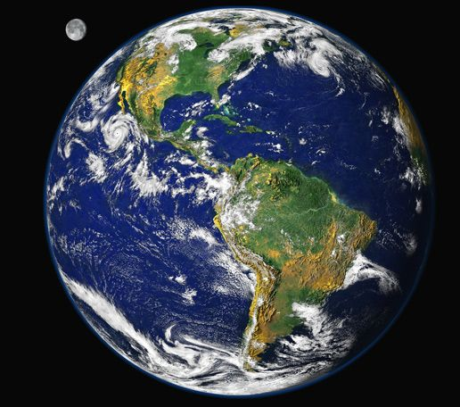 Nasa Image Of The Blue Marble 2000 Earth From Space Earth Images Earth