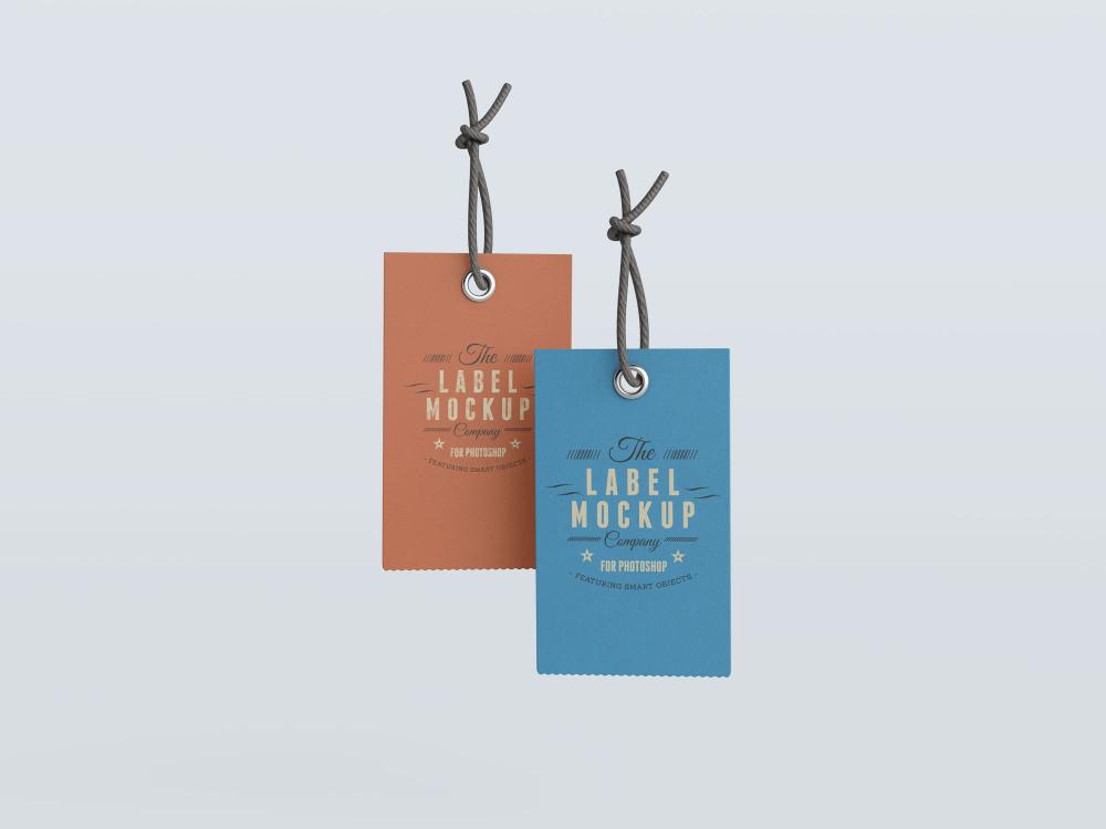 Download Free Clothing Label Hang Tag Mockup Psd Good Mockups Hang Tags Labels Free Clothes