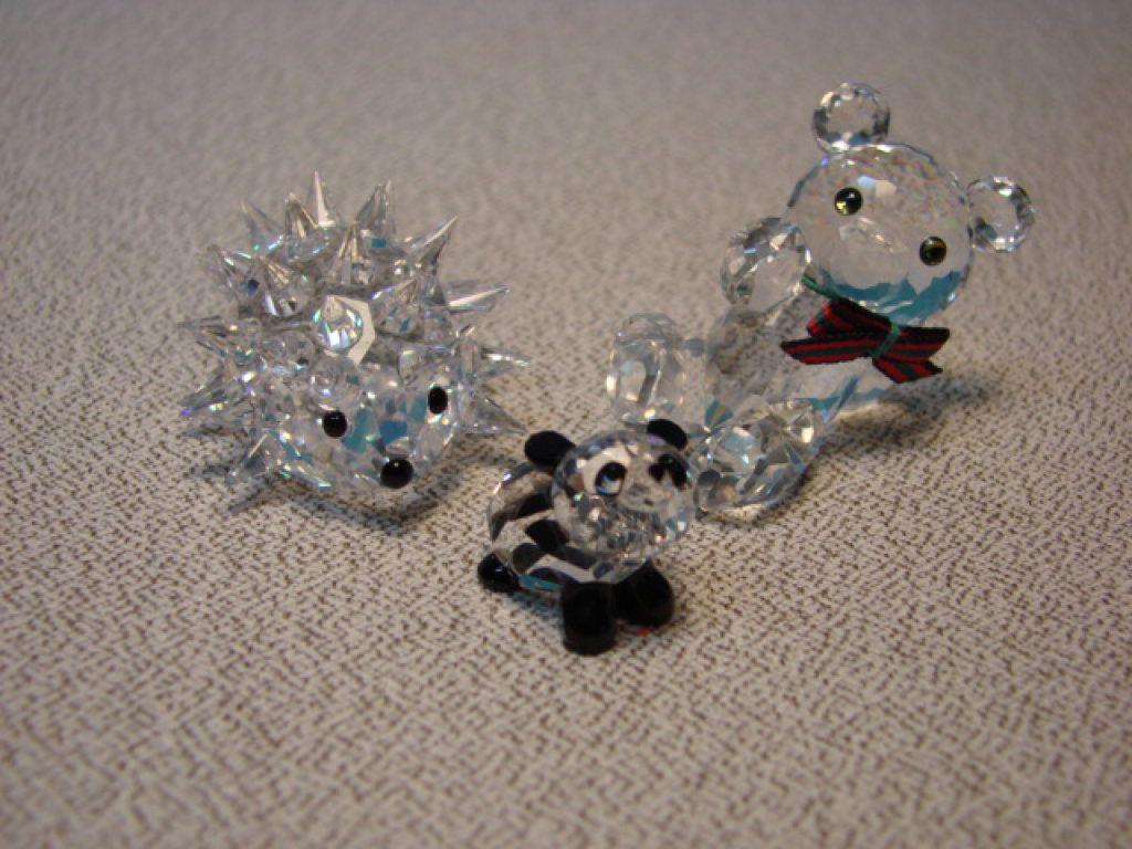 Swarovski Crystal Animal Figurines #swarovski #glass #collectibles #auction #auctionnv #nevadapublicauction
