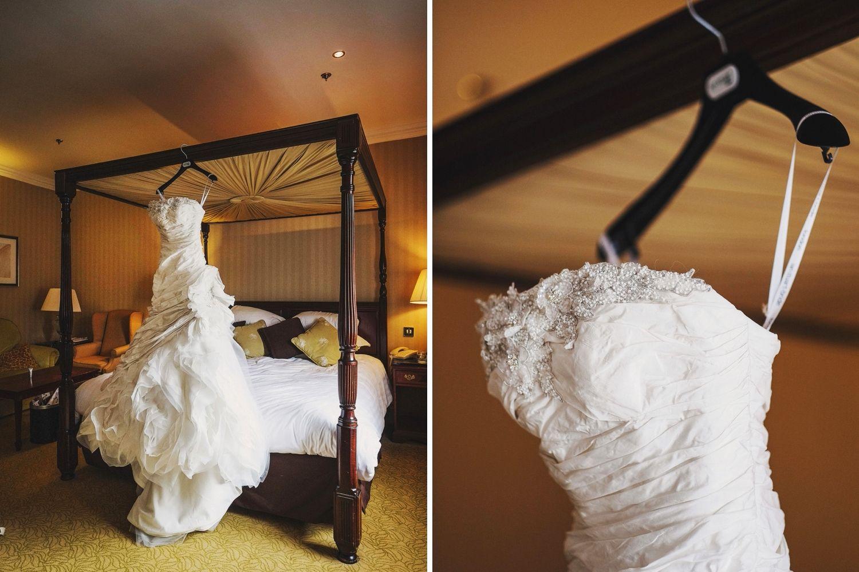 Middleton Lodge wedding dress