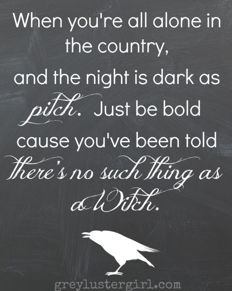 Good Halloween Quote To Decorate With