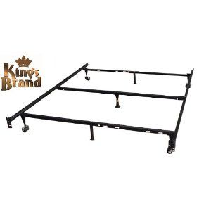 Heavy Duty 7 Leg Adjustable Metal Queen Full Full Xl Twin Twin Xl Bed Frame With Cent Metal Bed Frame Queen Size Metal Bed Frame Full Size Metal Bed Frame