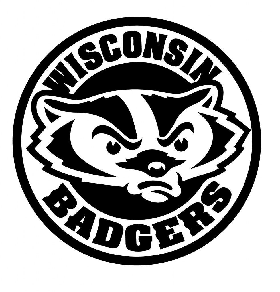 Wisconsin Badgers Stencil | Wisconsin badgers football ...