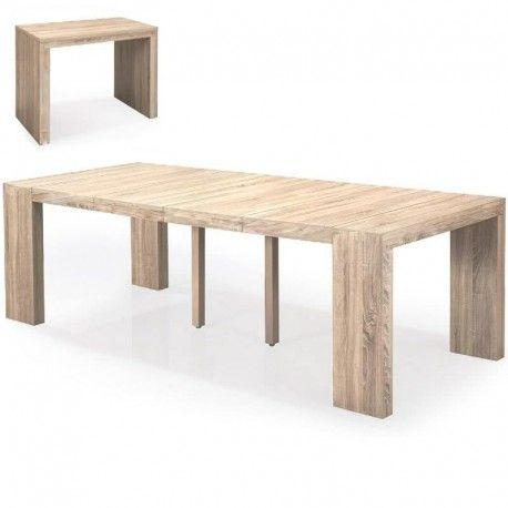 Mesa Consola Milano4, madera roble claro | Mesa consola | Pinterest