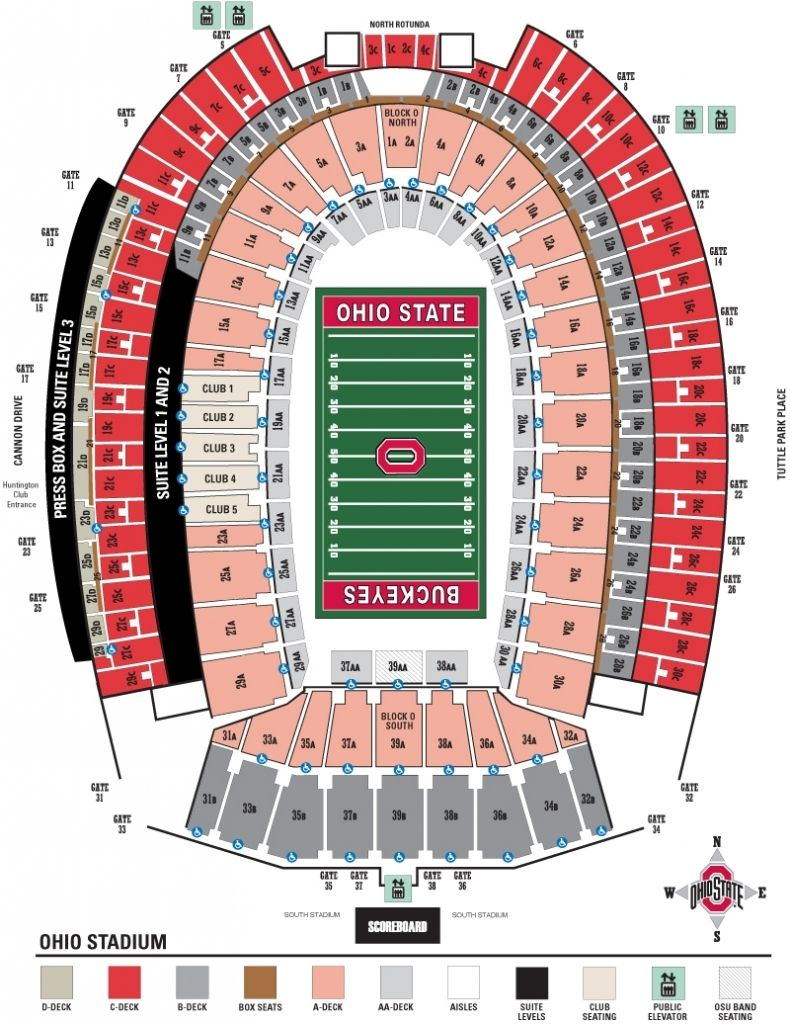 Penn State Stadium Seating Chart En 2020