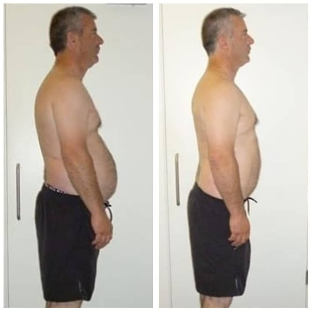 Arthur's results in JUST 12 days.  Arthur trained for 12 days in a row for 20 minutes with a fully q...