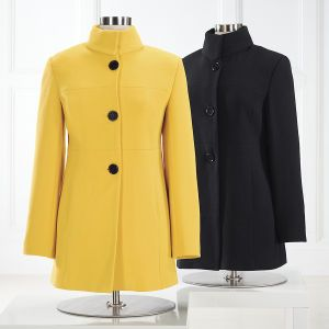 Women's Seamed Princess Coat - Women's Clothing, Unique Boutique Styles & Classic Wardrobe Essentials