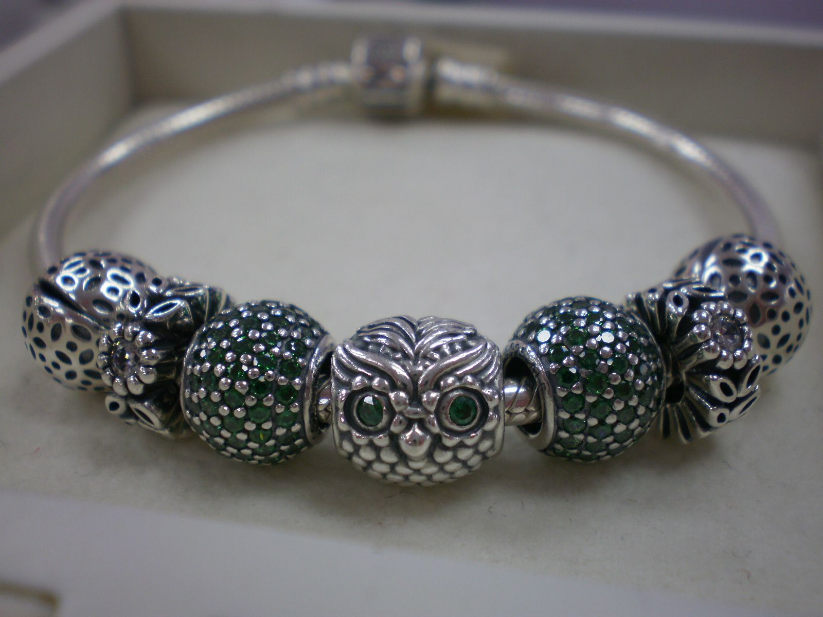 4673517d2 Wise Owl theme bracelet | PANDORA | Pandora bracelets, Pandora, Jewelry