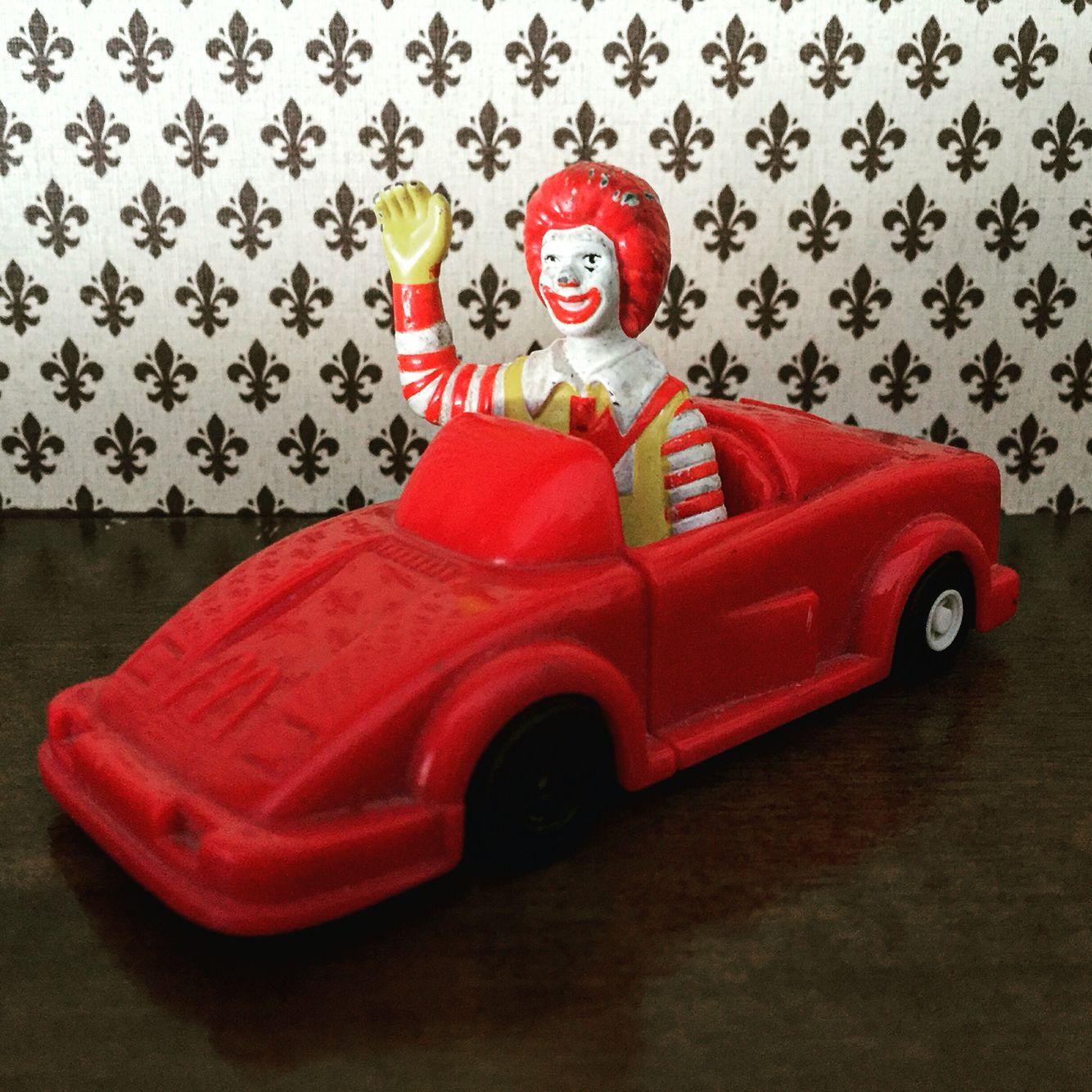 Ronald McDonald 1995. Vintage toys