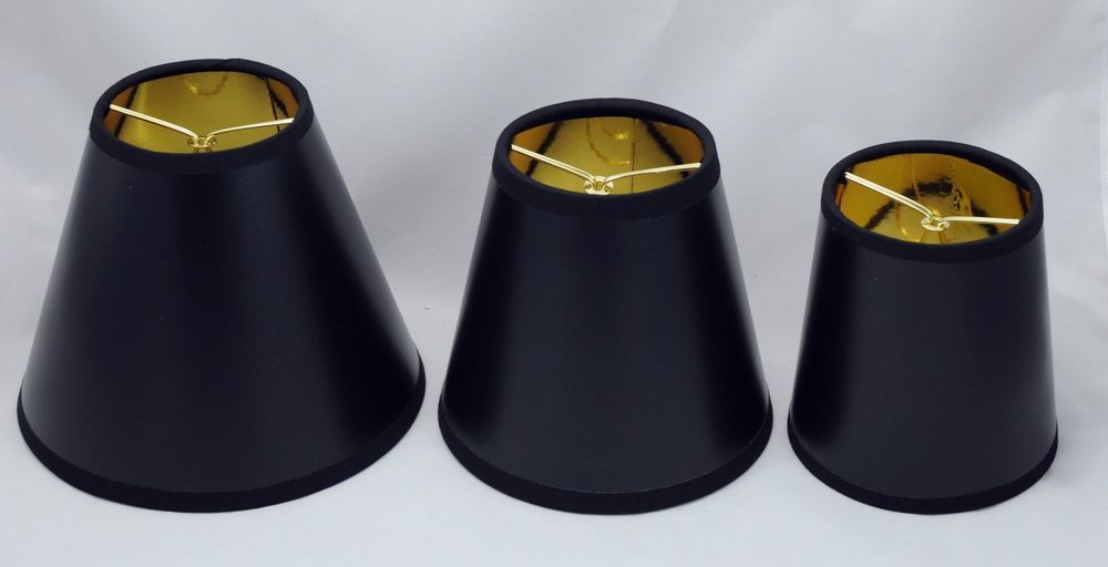 Urbanest black parchment chandelier mini lamp shade w gold liner 3 urbanest black parchment chandelier mini lamp shade w gold liner 3 sizes mozeypictures Image collections